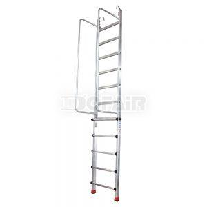 伸縮扶手單梯df-sl
