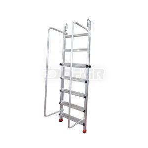 伸縮扶手單梯