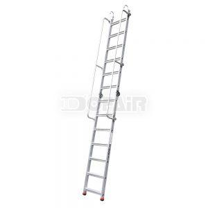 收折扶手單梯