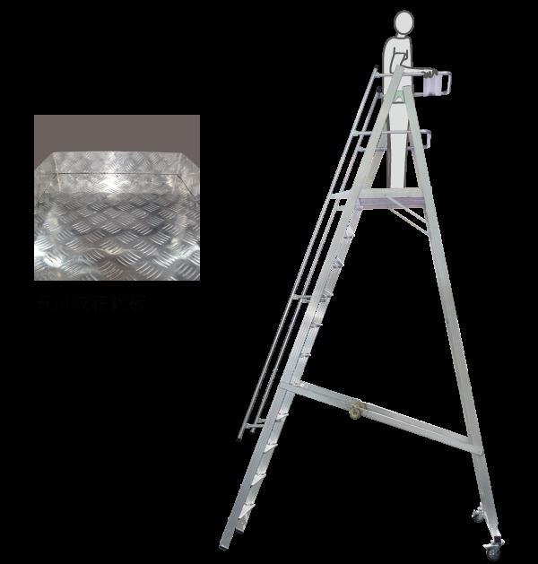 大型鋁合金平台 高空作業,安全又安心